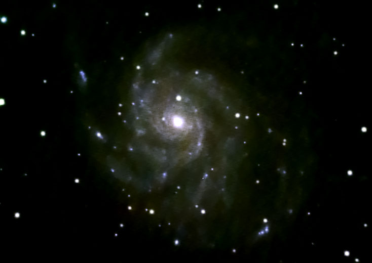 M101 image, using Meade DSI-2 (color)